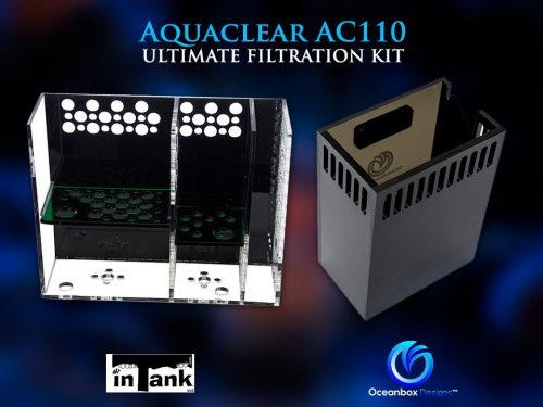 Aquaclear AC110 Ultimate Filtration Kit by inTank & Oceanbox Designs