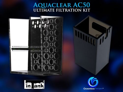 Aquaclear AC50 Ultimate Filtration Kit by inTank & Oceanbox Designs