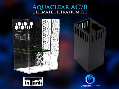 Aquaclear AC570 inTank Media Basket Surface Skimmer Overflow Box