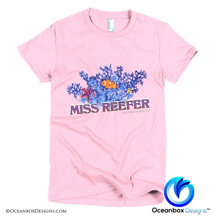 Miss Reefer T-Shirt by Oceanbox Designs™