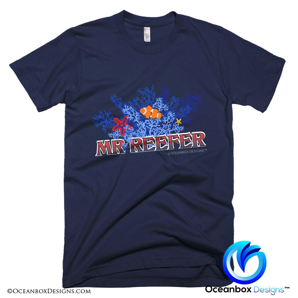 Mr Reefer T-Shirt by Oceanbox Designs™