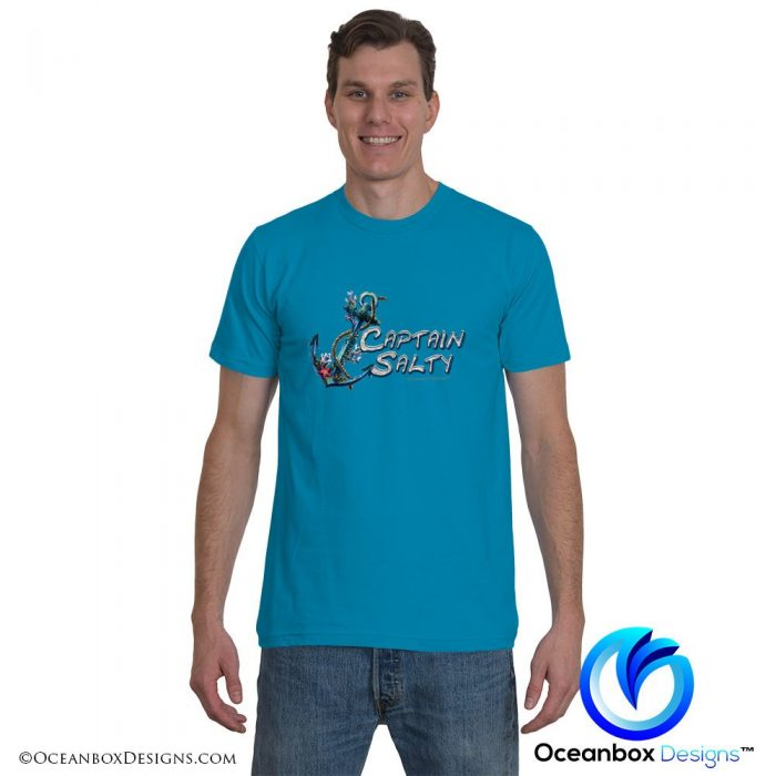 Captain Salty T-Shirt by Oceanbox Designs™