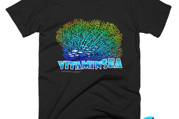 Vitamin Sea Men T-Shirt by Oceanbox Designs™
