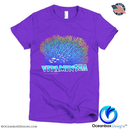 Vitamin Sea Women T-Shirt by Oceanbox Designs™