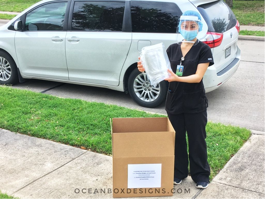 Oceanbox Designs Face Shield PPE